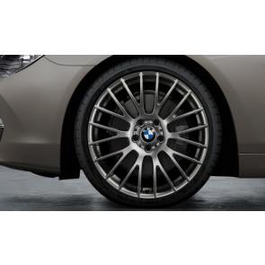 BMW Kompletträder Kreuzspeiche 312 ferricgrey 21 Zoll 5er F07 7er F01 F02 F04 RDC LC