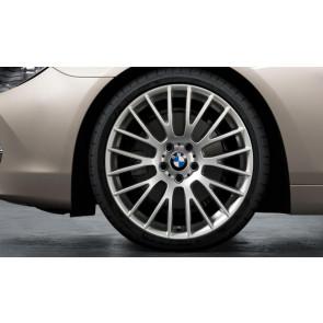 BMW Kompletträder Kreuzspeiche 312 silber 20 Zoll 5er F10 F11 6er F06 F12 F13 RDC LC