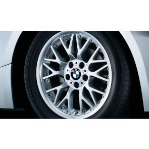BMW Alufelge Kreuzspeiche 78 8J x 18 ET 47 Silber Vorderachse BMW 3er E46 Z4 E85 E86