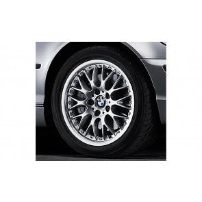 BMW Kreuzspeiche-Verbund II 42 silber 8J x 17 ET 47 Vorderachse/Hinterachse BMW 3er E46, Z3