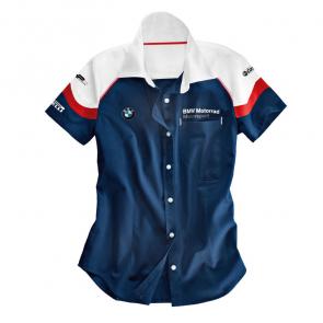 Kurzarm-Bluse Motorsport Damen