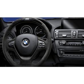BMW M Performance Lenkrad Alcantara mit Carbonblende und Race-Display 1er F20 F21 2er F22 F23 3er F30 F31 F34 4er F32 F33 F36