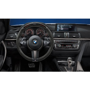 BMW M Performance Lenkrad II Alcantara mit Carbonblende und Race-Display 1er F20 F21 2er F22 F23 3er F30 F31 F34 4er F32 F33 F36