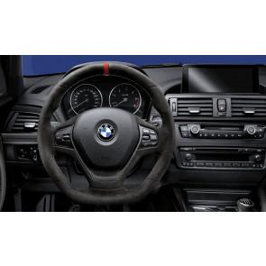 BMW M Performance Lenkrad Alcantara mit Carbonblende 1er F20 F21 2er F22 3er F30 F31 F34 4er F32 F33 F36