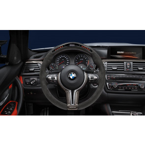 BMW M Performance Lenkrad Alcantara mit Carbonblende und Race-Display 5er M F10 6er M F06GC F12 F13