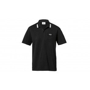 MINI Herren Poloshirt Logo Patch