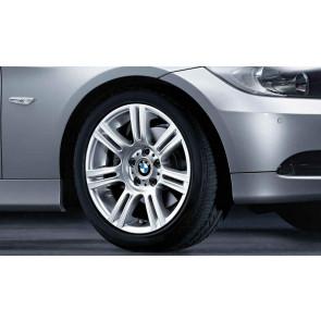 BMW Alufelge M Doppelspeiche 194 8J x 17 ET 34 Silber Vorderachse BMW 3er E90 E91 E92 E93