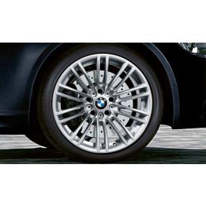 BMW Alufelge M Doppelspeiche 219 8,5J x 18 ET 29 Reflexsilber Vorderachse BMW 3er E90 E92 E93
