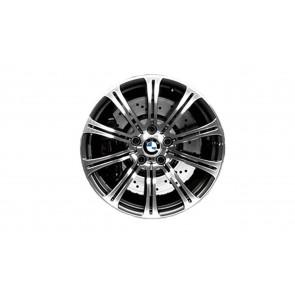 BMW Alufelge M Doppelspeiche 220 silber (geschmiedet) 8,5J x 19 ET 29 Vorderachse M3 E90 E92 E93