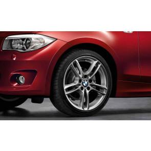 BMW Kompletträder M Doppelspeiche 261 ferricgrey 18 Zoll 1er E81 E82 E87