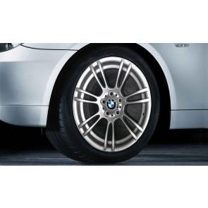 BMW Alufelge M Doppelspeiche 270 silber 8J x 18 ET 20 Vorderachse / Hinterachse 1er M E82 M3 E90 E92 E93