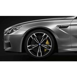 BMW Alufelge M Doppelspeiche 433 orbitgrey 10,5J x 20 ET 19 Hinterachse M6 F06 F12 F13