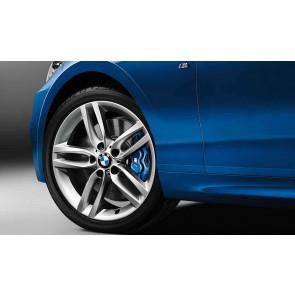 BMW Alufelge M Doppelspeiche 461 silber 7,5J x 18 ET 45 Vorderachse 1er F20 F21 2er F22 F23