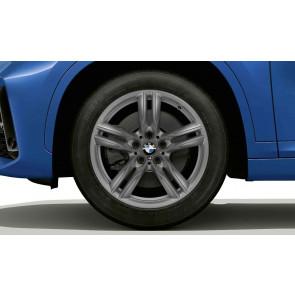 BMW Alufelge M Doppelspeiche 570 ferricgrey 7,5J x 18 ET 51 Vorderachse / Hinterachse X1 F48 X2 F39