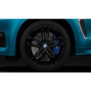 BMW Alufelge M Doppelspeiche 612 schwarz 11,5J x 21 ET 38 Hinterachse X5M F85 X6M F86