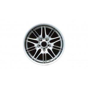 BMW Alufelge M Doppelspeiche 65 chrom shadow 9,5J x 18 ET 22 Hinterachse 5er E39 M5