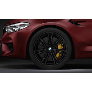 BMW Alufelge M Doppelspeiche 706 schwarz 9,5J x 20 ET 28 Vorderachse M5 F90