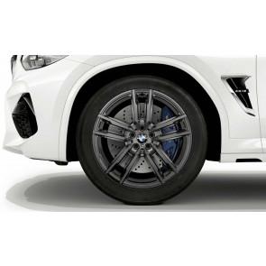 BMW Winterkompletträder M Doppelspeiche 764 orbitgrey 20 Zoll X3M F97 X4M F98 RDCi
