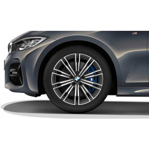 BMW Alufelge M Doppelspeiche 790 orbitgrey 8,5J x 18 ET 40 Hinterachse 3er G20 G21
