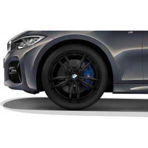 BMW Alufelge M Doppelspeiche 791 schwarz 8J x 19 ET 27 Vorderachse 3er G20 G21