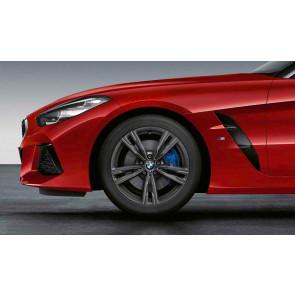 BMW Alufelge M Doppelspeiche 798 orbitgrey 8,5J x 18 ET 30 Vorderachse Z4 G29