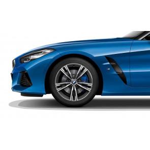 BMW Winterkompletträder M Doppelspeiche 798 orbitgrey 18 Zoll Z4 G29 RDCi (Mischbereifung)