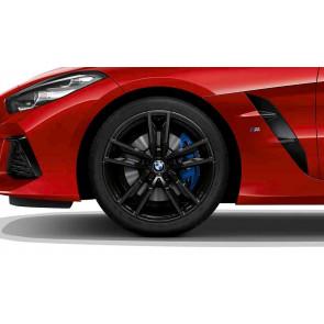 BMW Alufelge M Doppelspeiche 799 schwarz 9J x 19 ET 32 Vorderachse Z4 G29