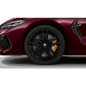 BMW Alufelge M Doppelspeiche 810 schwarz 10,5J x 20 ET 28 Hinterachse M8 F91 F92