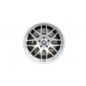 BMW Alufelge M Kreuzspeiche 163 silber 9,5J x 19 ET 27 Hinterachse M3 E46