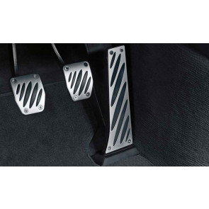 BMW Performance Alu-Pedalauflagen, Schaltgetriebe 1er E81 E87 E88 E82 3er E46 E90 E91 E92 E93 5er E39 E60 E61 6er E63 E64 X1 E84 X3 E83 F25 X5 E53 Z4 E85 E86 E89