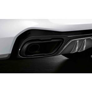 BMW M Performance Endrohrblende 6-Zylinder-Optik X5 G05 X6 G06 X7 G07