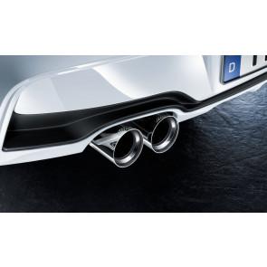 BMW M Performance Endrohrblende Chrom 3er F30 F31 4er F32 F33 F36