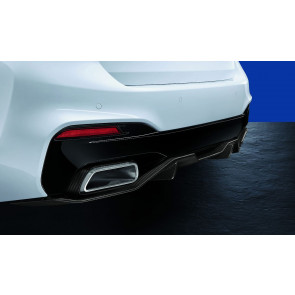 BMW M Performance Endrohrblenden Carbon 5er G30 G31