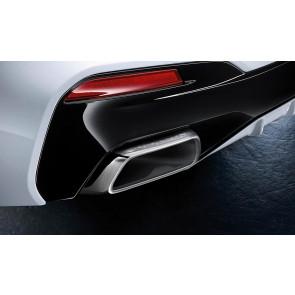 BMW M Performance Endrohrblenden Chrom 5er G30