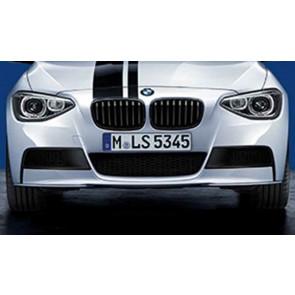 BMW M Performance Frontaufsatz schwarz matt 1er F20 F21