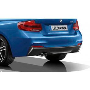 BMW M Performance Heckdiffusor einbordig-zweiflutig 2er F22 F23