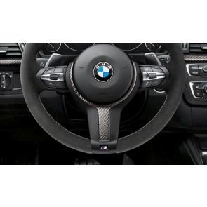 BMW M Performance Lenkrad Abdeckung Alcantara / Carbon 1er F20 F21 2er F22 F23 F45 F46 3er F30 F31 F34 4er F32 F33 F36 X1 F48 X2 F39