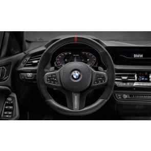 BMW M Performance Lenkradblende Carbon/Leder 5er G30 G31 M5 F90 M5 CS 6er G32 8er G14 G15 G16 M8 F91 F92 F93 X3 G01 X3M F97 X4 G02 X4M F98 X5 G05 X5M F95 X6 G06 X6M F96 X7 G07