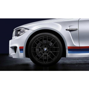 BMW Alufelge M Performance Y-Speiche 359 10J x 19 ET 25 Schwarz matt Hinterachse BMW 1er M E82 3er M E90 E92 E93