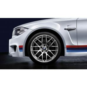 BMW Alufelge M Performance Y-Speiche 359 10J x 19 ET 25 Silber Hinterachse BMW 1er E82 3er E90 E92