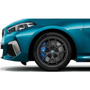 BMW Alufelge M Performance Y-Speiche 554 orbitgrey 8J x 18 ET 54 Vorderachse / Hinterachse 1er F40 2er F44