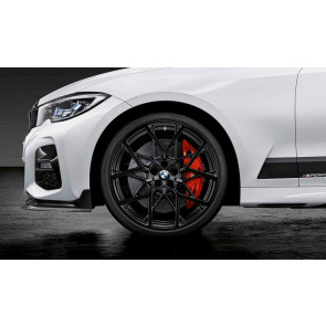 BMW Alufelge M Performance Y-Speiche 795 schwarz matt 8,5J x 20 ET 40 Hinterachse 3er G20