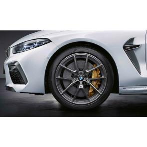 BMW Kompletträder M Performance Y-Speiche 863 ferricgrey matt 20 Zoll M5 F90 M8 F91 F92 F93 RDC