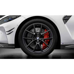 BMW Kompletträder M Performance Y-Speiche 963 frozen gunmetal grey 19 / 20 Zoll M3 G80 M4 G82 RDC (Mischbereifung)