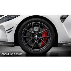 BMW Kompletträder M Performance Y-Speiche 963 jet black matt 19 / 20 Zoll M3 G80 M4 G82 RDC (Mischbereifung)