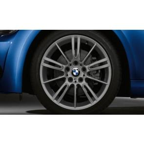 BMW Winterkompletträder M Sternspeiche 193 ferricgrey 18 Zoll 3er E90 E91 E92 E93 (Mischbereifung)