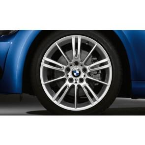 BMW Alufelge M Sternspeiche 193 silber 8,5J x 18 ET 37 Hinterachse 3er E90 E91 E92 E93