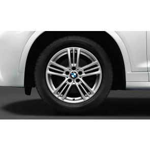 BMW Winterkompletträder M Sternspeiche 368 silber 18 Zoll X3 F25 X4 F26