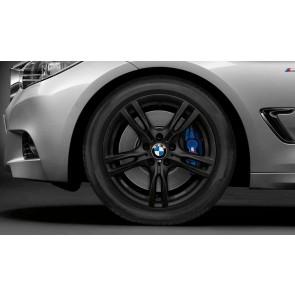BMW Alufelge M Sternspeiche 400 schwarz 8J x 18 ET 34 Vorderachse / Hinterachse 3er F30 F31 F34 4er F32 F33 F36