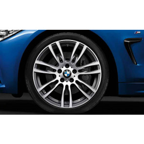 BMW Kompletträder M Sternspeiche 403 bicolor (ferricgrey / glanzgedreht) 19 Zoll 3er F30 F31 4er F32 F33 F36